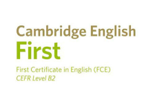 Cambridge First Certificate English - B2