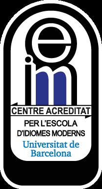 Centro Acreditado de la Escuela de Idiomas de la Unniversidad de Barcelona